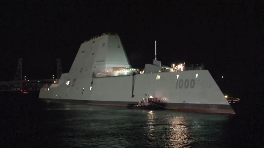 PCU Zumwalt put its crew to the test during the completion of sea trials.