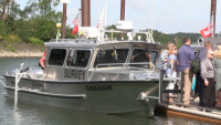 Portland District dedicates new survey boats