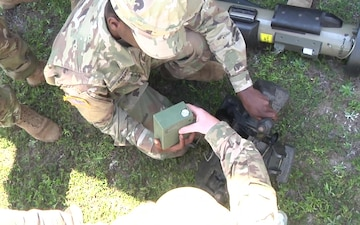 2IBCT conducts Javelin training B-Roll