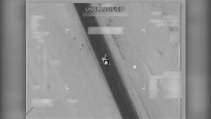 Aug 21: Coalition airstrike destroys Da'esh vehicle near Qayyarah, Iraq