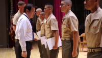 Kilo Company Naturalization Ceremony