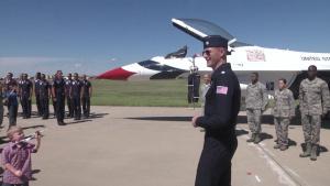 Sheppard Thunderbirds Re-Enlistment
