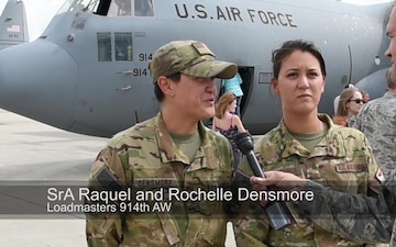 914th AW Completes Final C-130 Deployment
