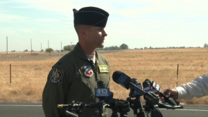 Col. Broadwell gives statement on U-2 crash