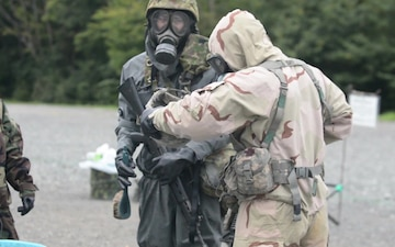 Japan Ground Self-Defense Force and U.S. Army Learn Decontamination Best-Practices