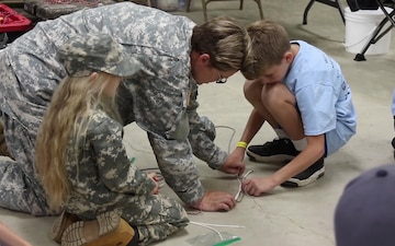 West Virginia National Guard's Kids Day Camp - Clay County