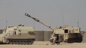 CENTCOM commander fires M-109 Paladin