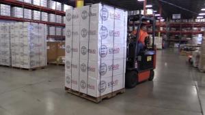 OFDA USAID Miami Warehouse