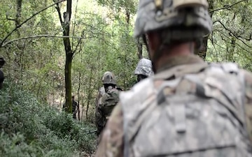 U.S. and Indian Soldiers Conducted Bilateral Training at Chaubattia