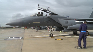 The 492nd Fighter Squadron Joins Noble Arrow 16