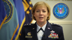 Lt. Gen. Wendy Masiello introduction to the Society of Women Engineers