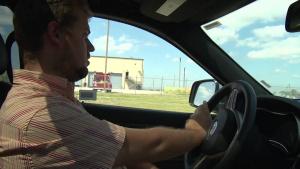Wasteful Wayne takes a drive
