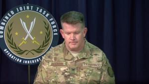 OIR Spokesman briefs Pentagon Reporters