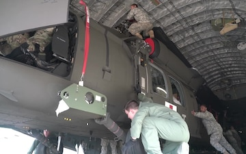 NEW HAWAII ARMY NATIONAL GUARD MEDEVAC UNIT RECEIVES INITIAL HELICOPTERS - Package