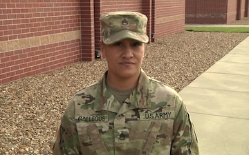 SSG Gallegos K-State Shout out