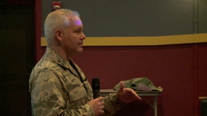 22nd Air Force Commander visits Niagara Falls Air Reserve Station