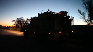 Coalition Partners from the United Kingdom Provide Security Force at Al Asad