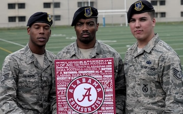 University of Alabama Shout-out from SSgts Jackson, Vinson and Hodges