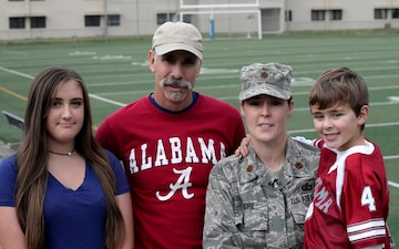 University of Alabama Shout-out from The Moore Family