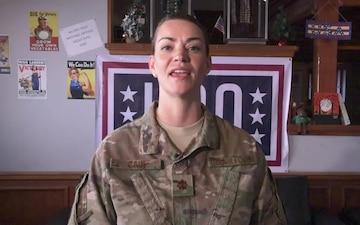 Major Tricia Cain Holiday Greeting