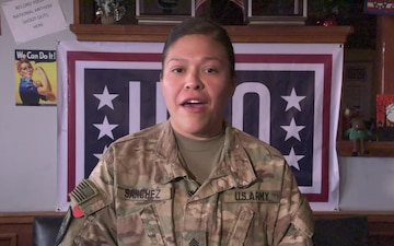 Sergeant Kasha Sanchez Holiday Greeting