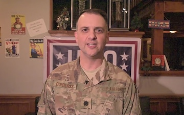 Lt. Col. Patrick O'Rourke Holiday Greeting