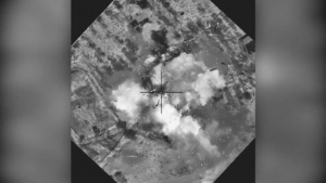 Oct 27: Coalition airstrike destroys a Da'esh VBIED facility near Mosul, Iraq