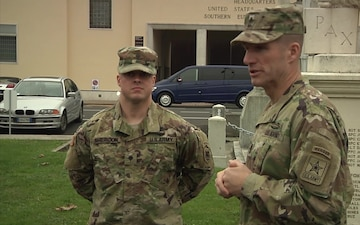 Sgt. Sheridon Promoted by SMA