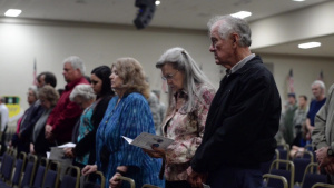Stone Lake Retreat Ceremony and Plaque Unveiling