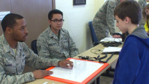 Altus Airmen Educate Local Elementary Schoolers on STEM