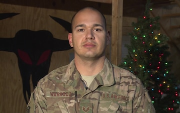 Air Force Staff Sgt. Nicholas Warkocz