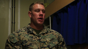 Marines celebrate birthday abroad