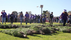 Camp Pendleton 2016 Trees for Troops(BROLL/INTERVIEWS)