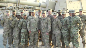 Camp Arifjan Army-Navy Shout Out