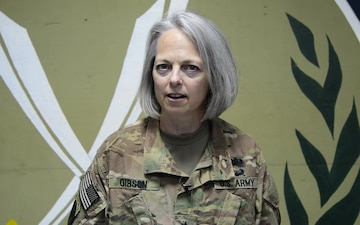 Brigadier General Karen Gibson Holiday Shoutout