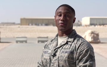 SrA Sedric Franklin Holiday Shoutout