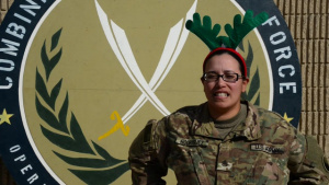 Staff Sergeant Maria Rodriguez Holiday Shoutout