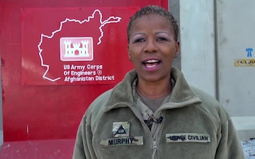 Holiday Greeting from Jacqueline Murphy - USACE TAA