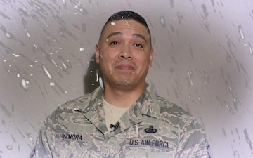 Greetings From Around The Globe: MSgt Zamora