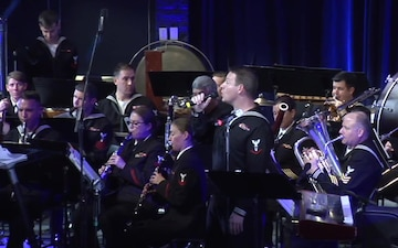 Navy Band Northeast's Pops Ensemble Holiday Concert