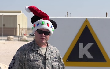 CMSgt John Elstrom Holiday Shoutout
