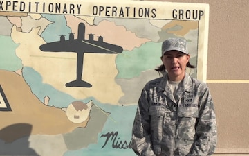 MSgt Bilma Romero Holiday Shoutout