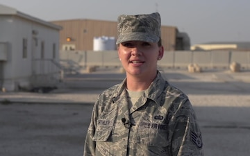 SSgt Charee Worthley Holiday Shoutout