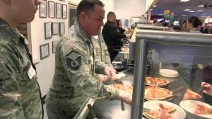 New Mexico Air National Guard Celebrates Christmas with Janet Vargas