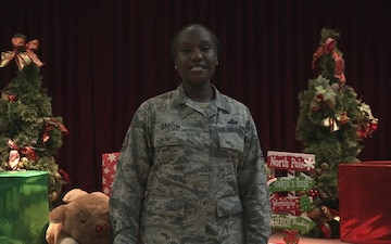 Air Force Master Sergeant Shannon Easton - Holiday Greeting