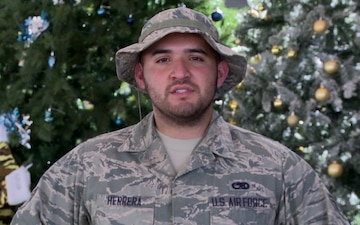SrA Michael Herrera Holiday Shout Out - WA