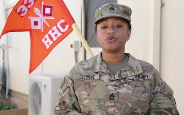 Sgt. 1st Class Katrice Osborne - Holiday Greeting