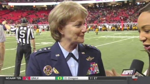 Lt Gen Maryanne Miller Celebration Bowl Comments
