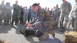 VMM-161 holds Tactical Combat Casualty Care Course
