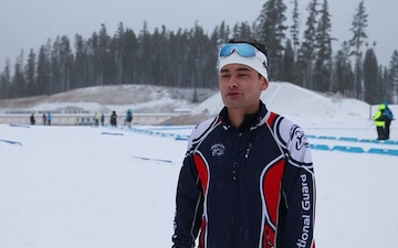 A-Roll: Alaska National Guard biathletes compete in Canada, bring home gold